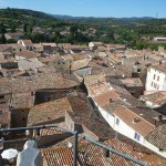Rooftops Gabian near Pezenas, The Village House holiday accommodation