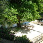 The Village House accommodation, Gabian near Pezenas, river Thongue