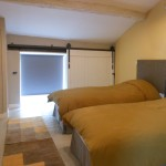 Twin bedroom, The Village House vacation rental, Gabian Pezenas
