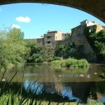 Ramparts Gabian near Pezenas, The Village House holiday rental accommodation